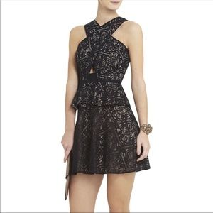 BCBGMaxazria Tara Lace Cutout Dress 6